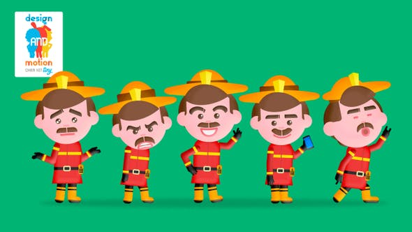 D&M Character Kit Tiny: Fire Fighter