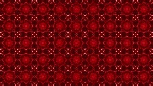 8k Red Pattern Vj Loop