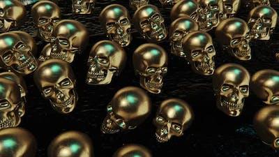 Skull Gold Hd