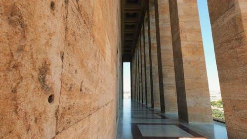 Anıtkabir's Columns