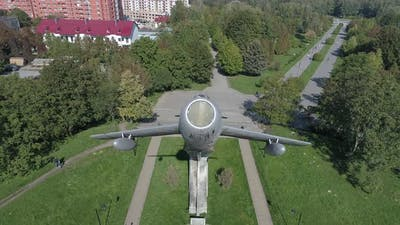 Monument in honor of the pilots