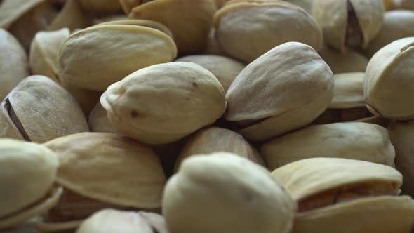 Thumbnail for Rotating Roasted Salted Appetizing Pistachios