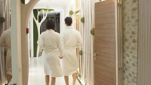 Thumbnail for Two Lovers Spending Time in the Wellness Center. Healthy Lifestyle.