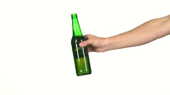 Thumbnail for Hand with a Bottle of Beer