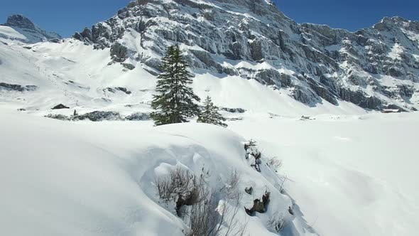 Thumbnail for Snowy Mountain Landscape