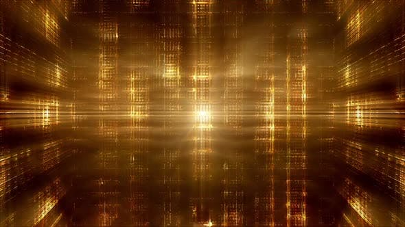 Thumbnail for Futuristic Gold Colored Backgrounds Package