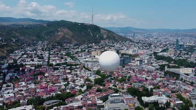 Air Balloon Aerial View
