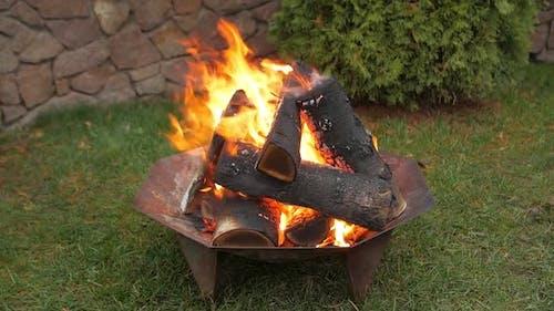 The Backyard Bonfire