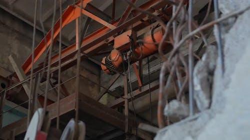 Industrial Crane Motor