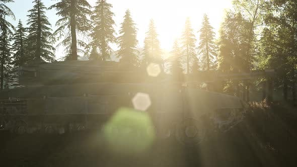 Thumbnail for Old Rusty Tank in Forest