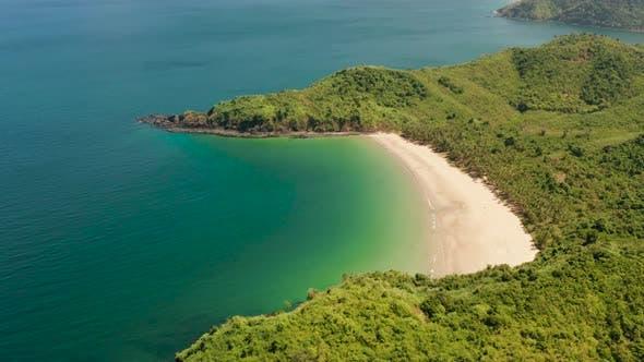 Thumbnail for Tropical Seawater Lagoon and Beach, Philippines, El Nido