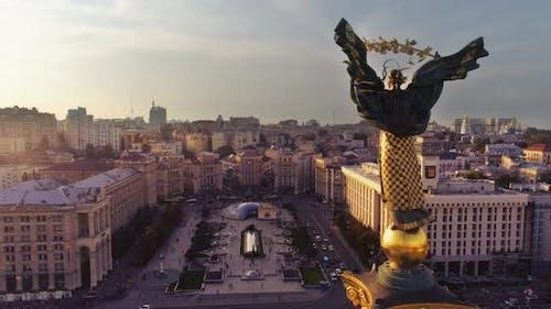 Monument de l'Indépendance Béréhynie Kiev
