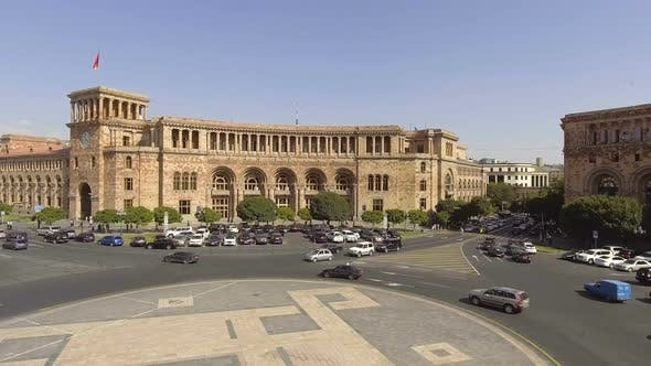 Thumbnail for View of Government House in Yerevan at Republic Square, Prime Ministers Office