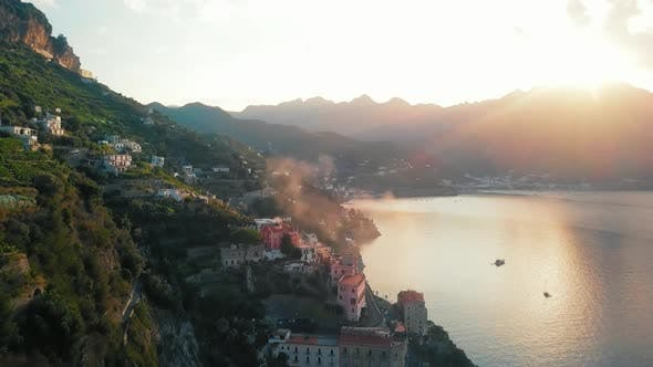 Atrani Haze By Dawn Amalfi Coast