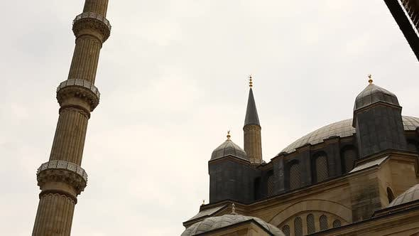 Thumbnail for Edirne Ottoman Magnificent Selimiye Mosque Timelapse