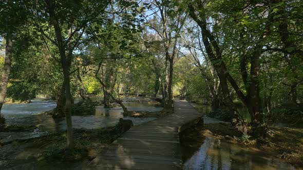 Krka Nationalpark natürliche Umgebung