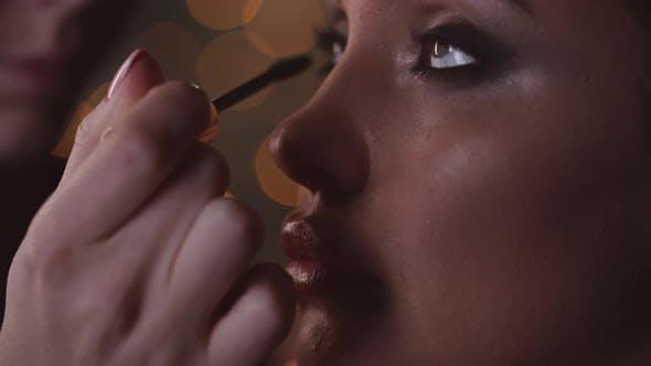 Thumbnail for Applying Mascara