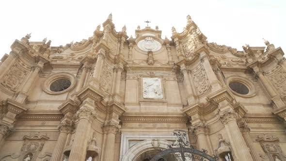 Encarnacion Cathedral of Guadix. Granada, Spain. Baroque