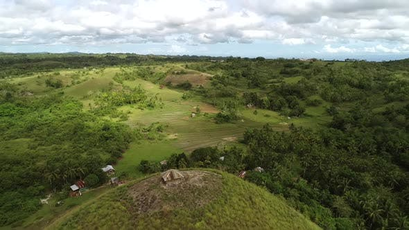 Thumbnail for Aerial view of Chocolate Hills Complex, Batuan, Philippines.