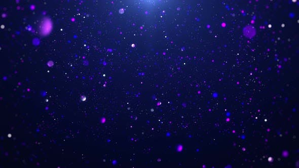 Particle Light Background
