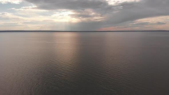 Big River Sunset