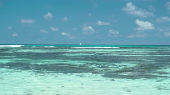 Thumbnail for Amazing Seascape with Clear Blue Water and Sky