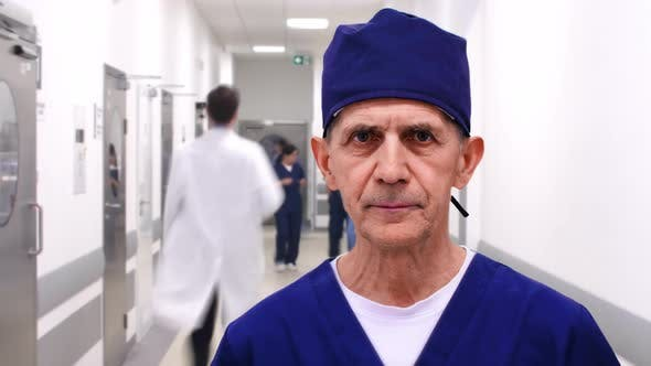 Thumbnail for Time lapse view of professional doctor in hospital