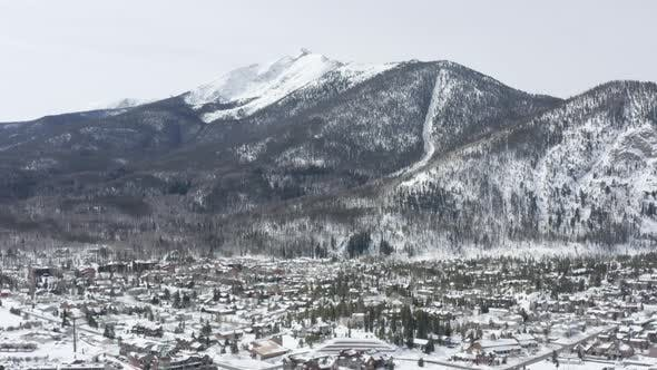 Thumbnail for Frisco Colorado Panoramic Aerial Landscape Mountain Town