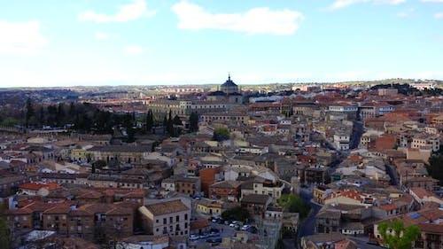 Dreharbeiten der Stadt Toledo