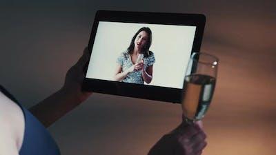 Internet Congratulation Holiday Video Call Girls