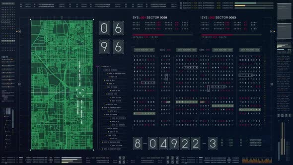 Thumbnail for Futuristic Source Code Numbers 05