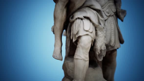 Thumbnail for Statue of a Trojan Hero Aeneas Saving His Aged Father Anchises