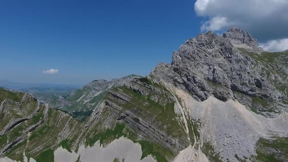 Thumbnail for Aerial of Bobotov Kuk and Mountains in Durmitor